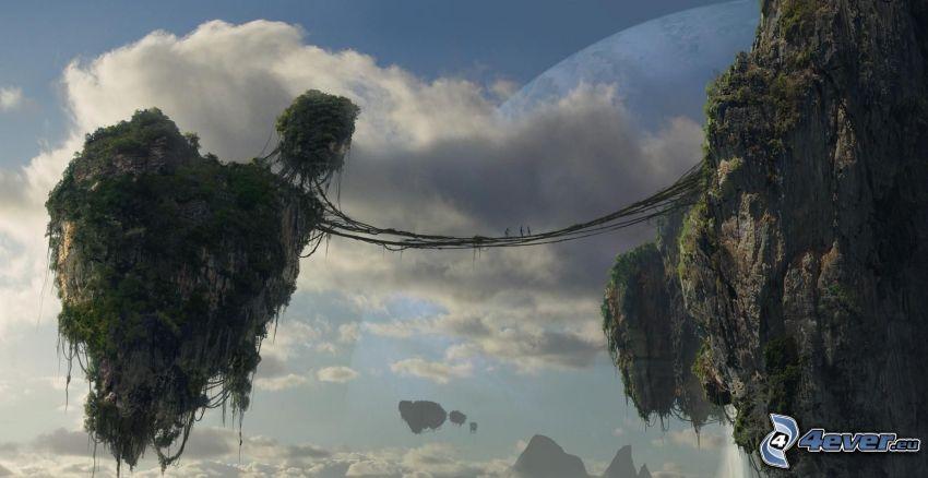 flying islands, Avatar