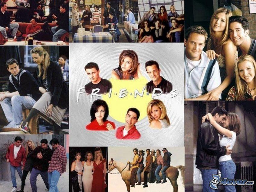 Friends, Jennifer Aniston, Courteney Cox, Lisa Kudrow, Matthew Perry, David Schwimer, Matt LeBlanc