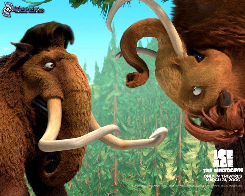 Ice Age, mammoth