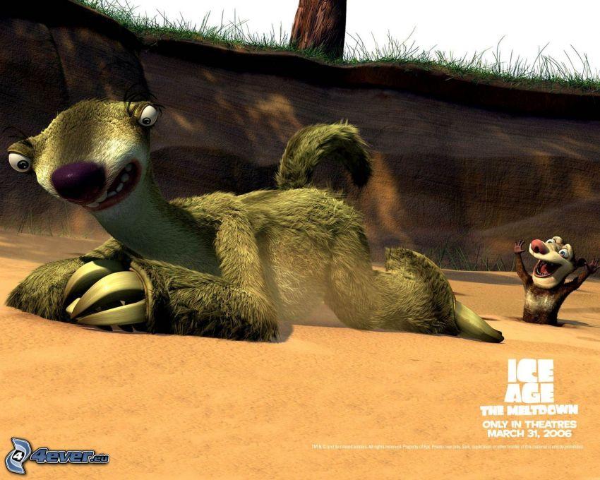 Ice Age, sloth