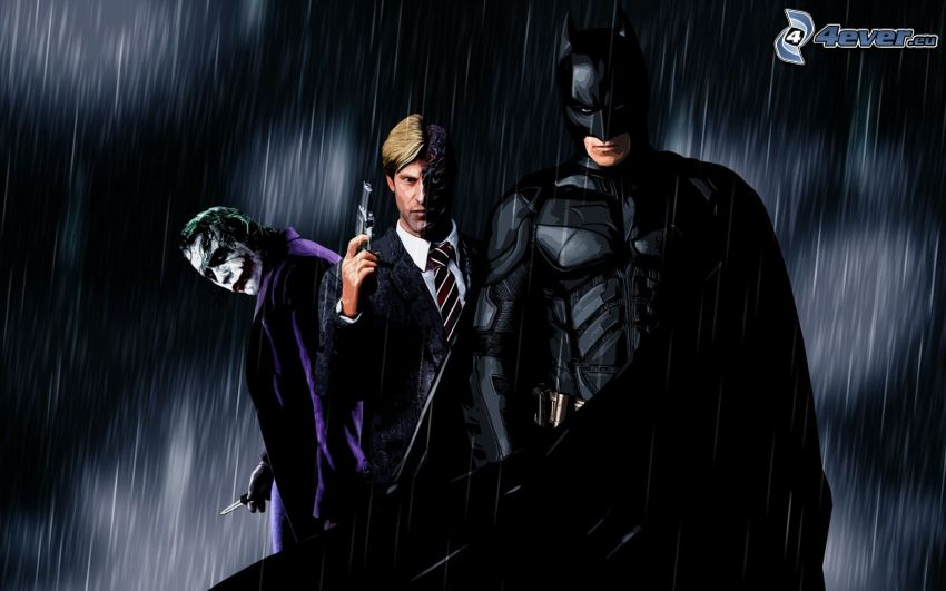 Joker, Blue, Batman, The Dark Knight Rises