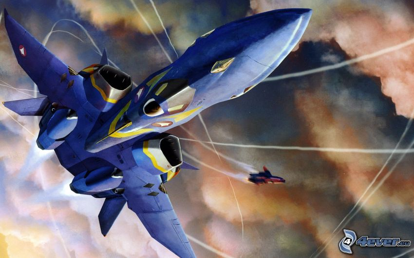 Macross, fighter