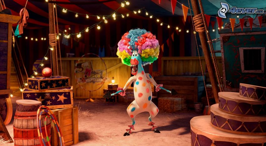 Madagascar 3: Europe's Most Wanted, circus