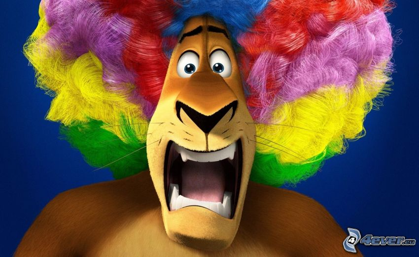Madagascar 3: Europe's Most Wanted, lion, Alex