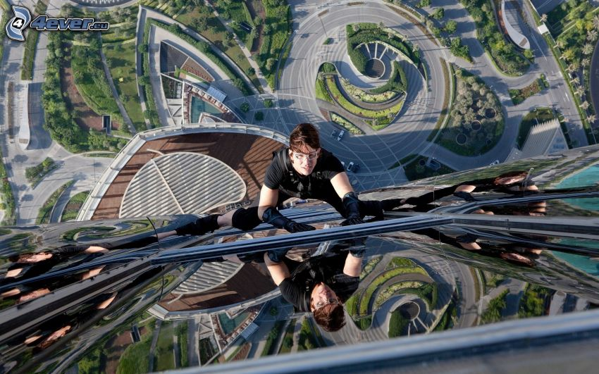 Mission: Impossible, Burj Khalifa, climber, skyscraper