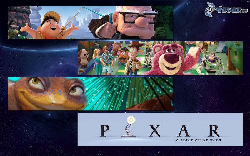 Pixar movies, Up, Toy Story 3