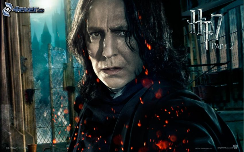 Severus Snape, Alan Rickman, Harry Potter and the Deathly Hallows