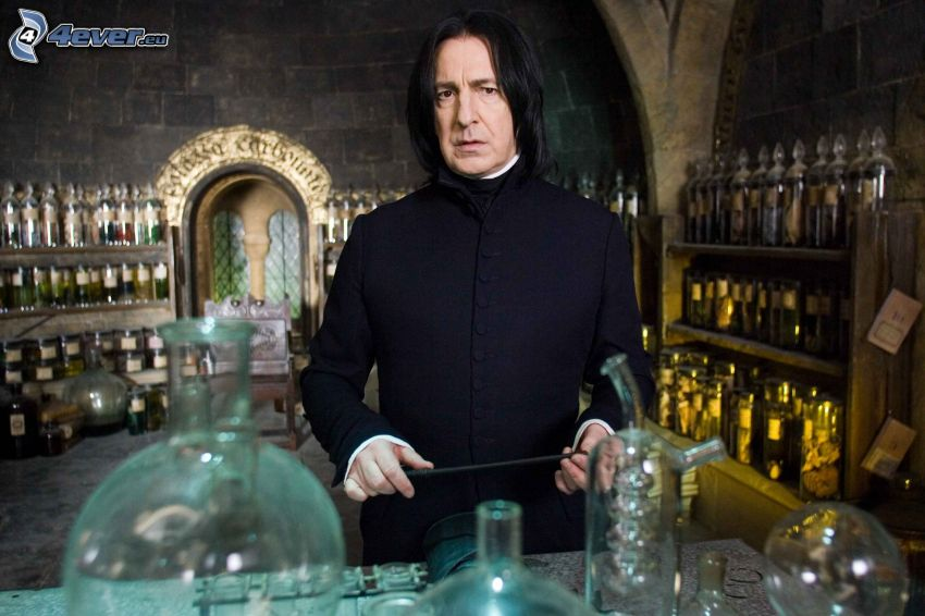 Severus Snape, Alan Rickman, Harry Potter and the Order of the Phoenix