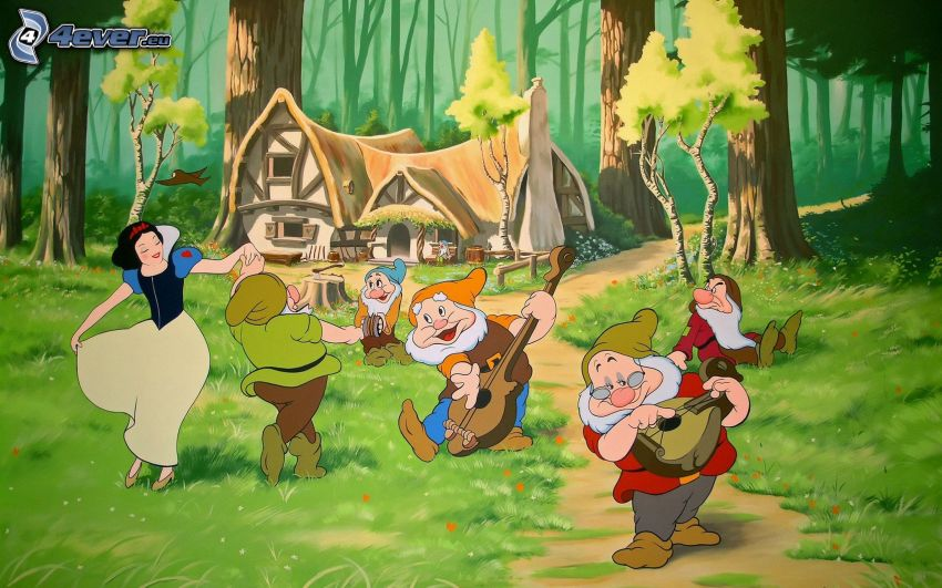 Snow White and the Seven Dwarfs, house