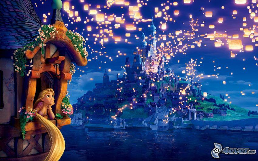 Tangled, lanterns