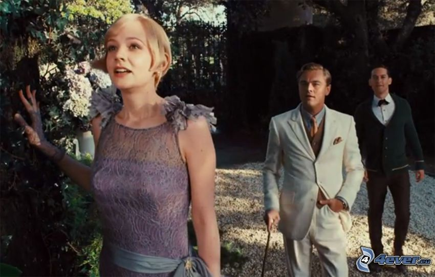 The Great Gatsby, Daisy Buchanan, Jay Gatsby, Nick Carraway