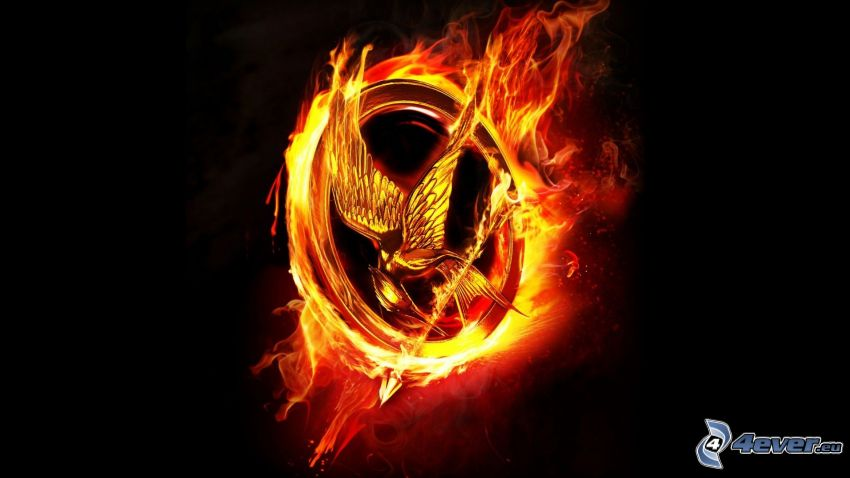 The Hunger Games, fire