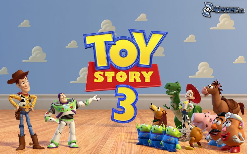 Toy Story 3, Buzz Lightyear, Woody