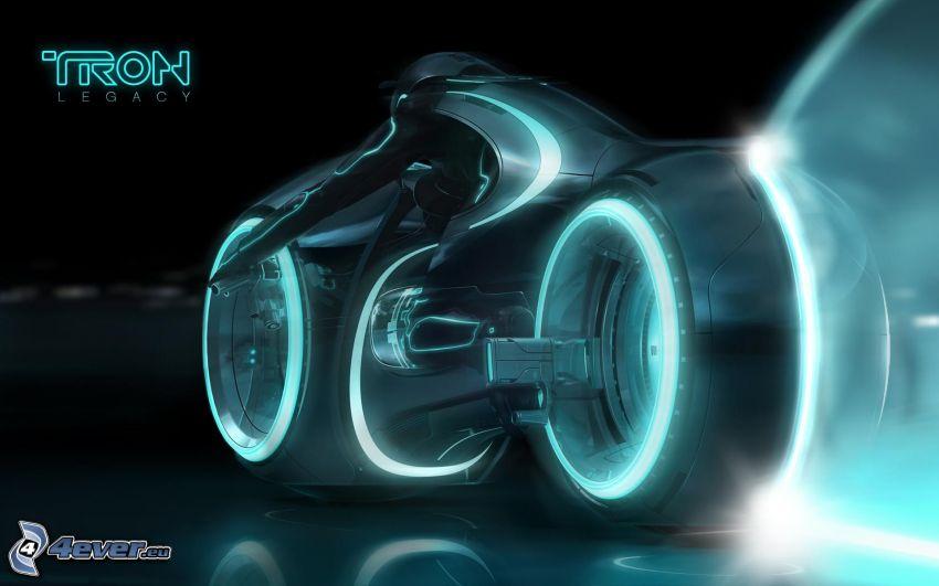 Tron: Legacy, rider, motocycle