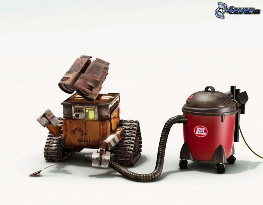 WALL·E, robot, vacuum cleaner