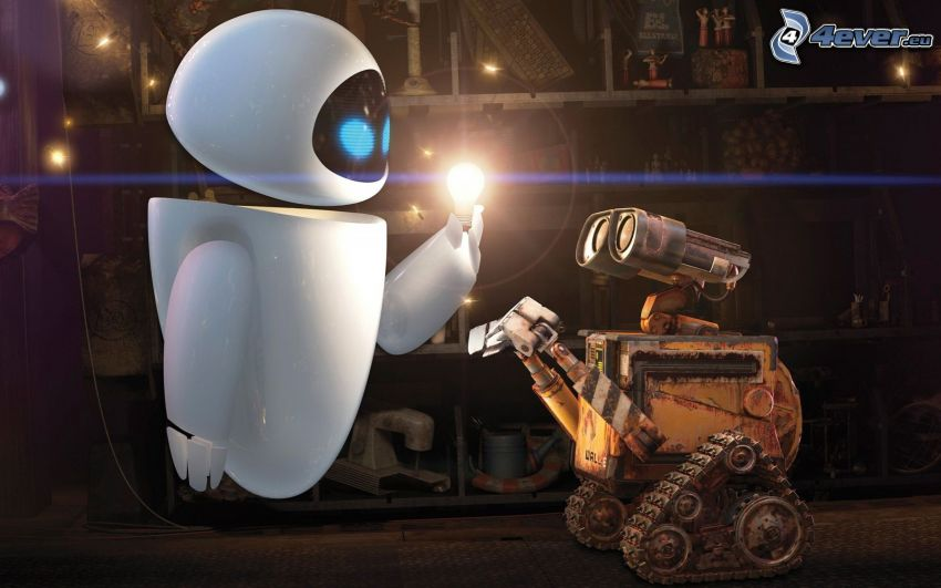 WALL·E, robots, fairy tale