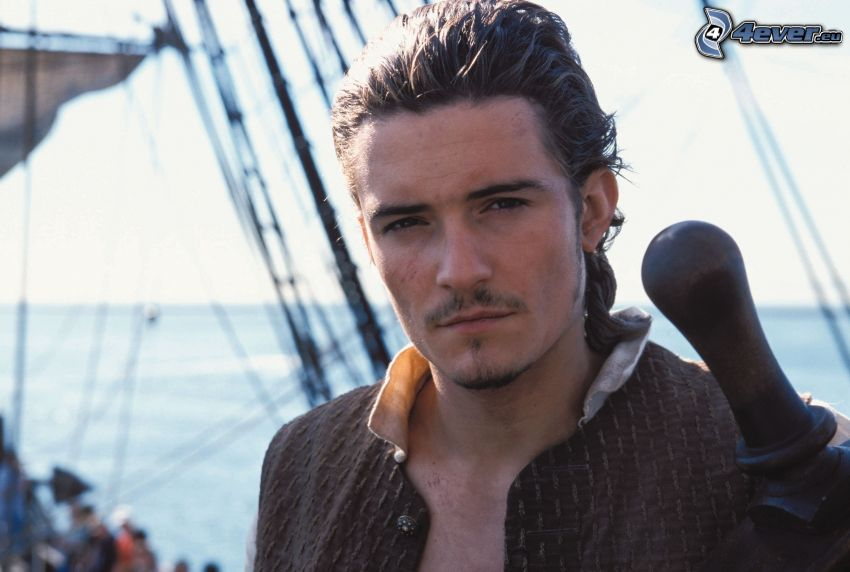 Will Turner, Orlando Bloom, Pirates of the Caribbean