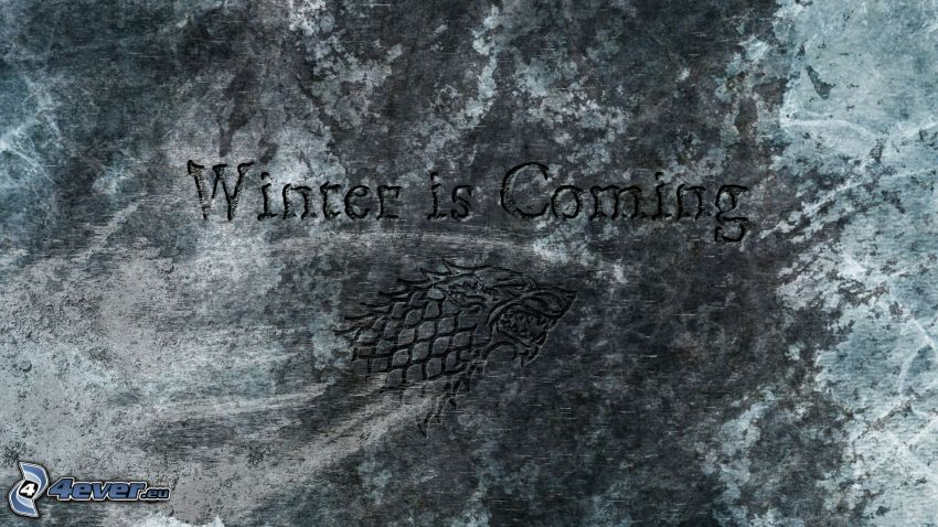 Winter is coming, wall