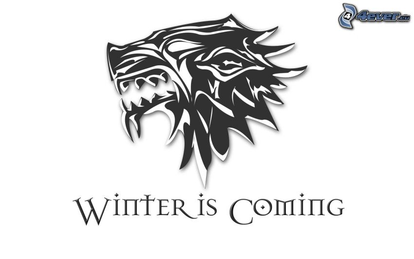Winter is coming, wolf