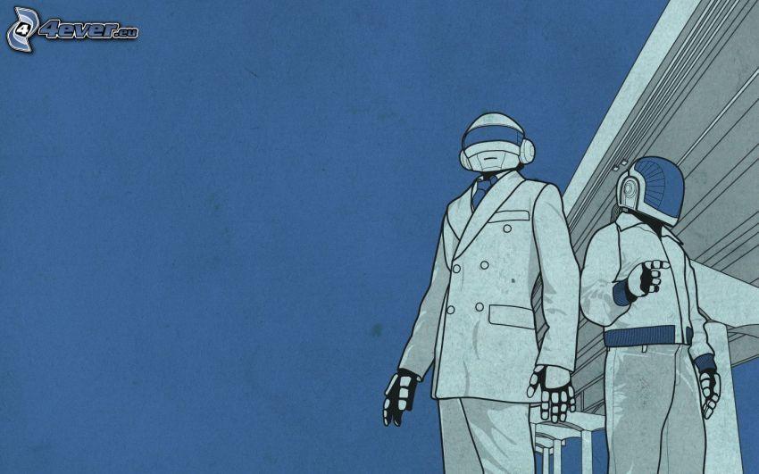 Daft Punk, cartoon