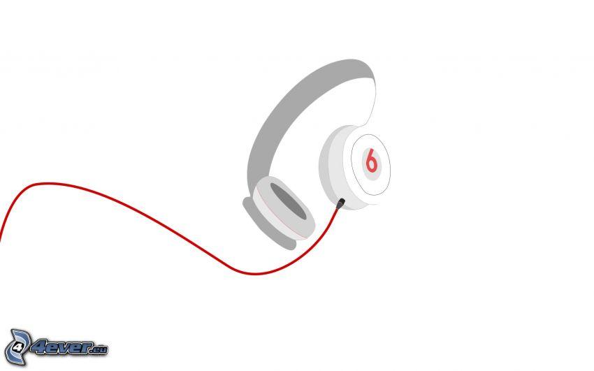 headphones, cartoon