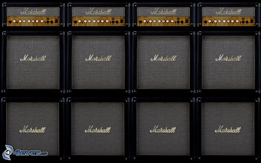Marshall, guitar amplifier