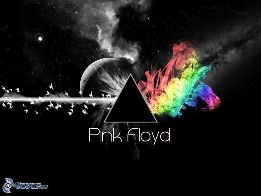 Pink Floyd, planet, colors