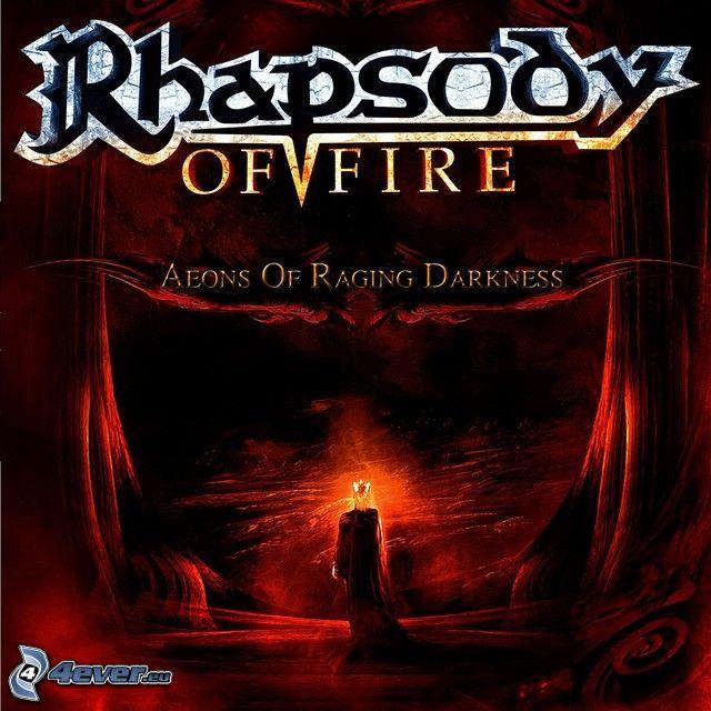 Rhapsody of Fire, Aeons Of Raging Darkness, demon, lava