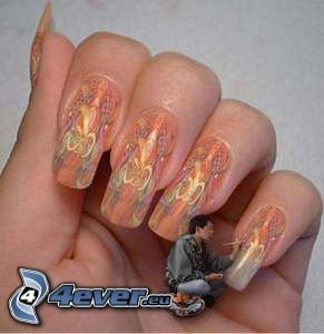 nails, painting, art