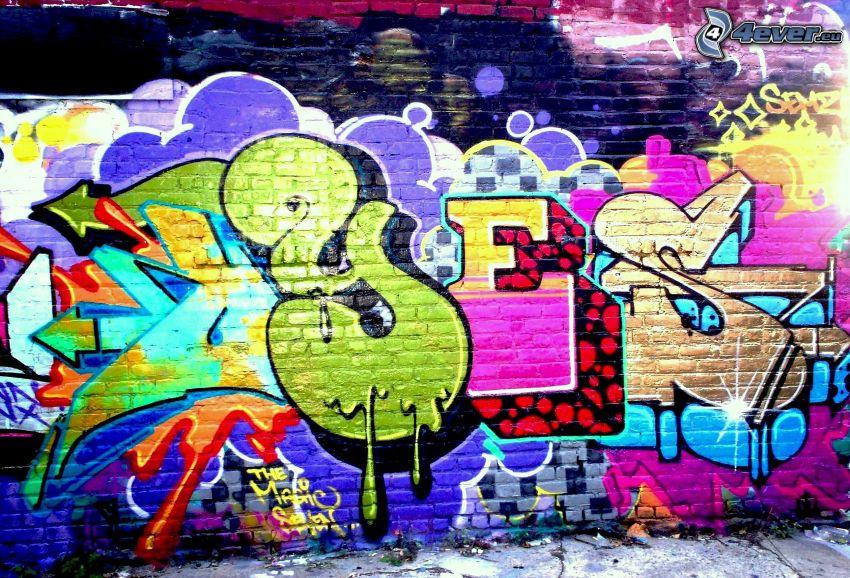 yes, graffiti