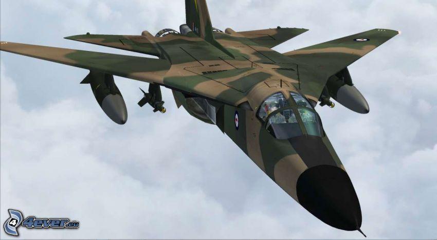 F-111 Aardvark, cartoon