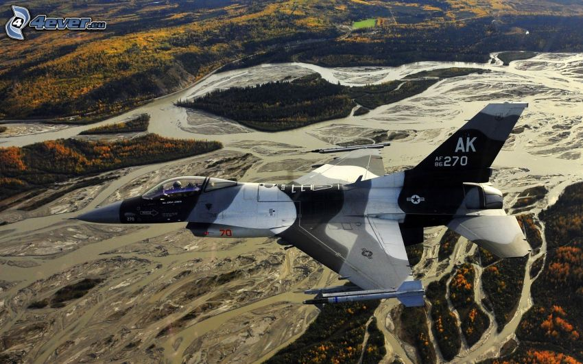 F-16 Fighting Falcon, River