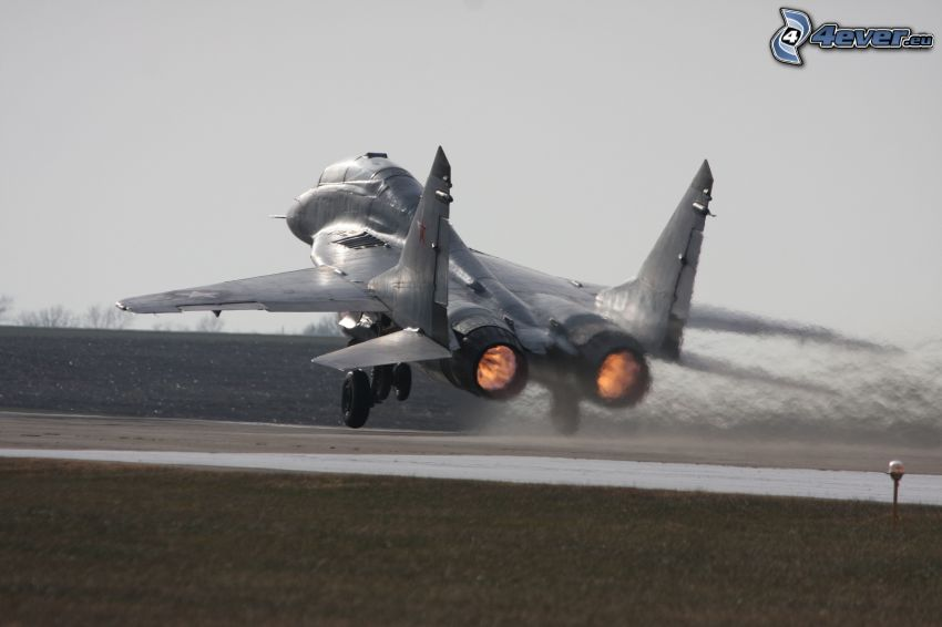 fighter, take-off