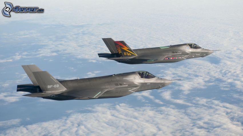 fighters, F-35 Lightning II