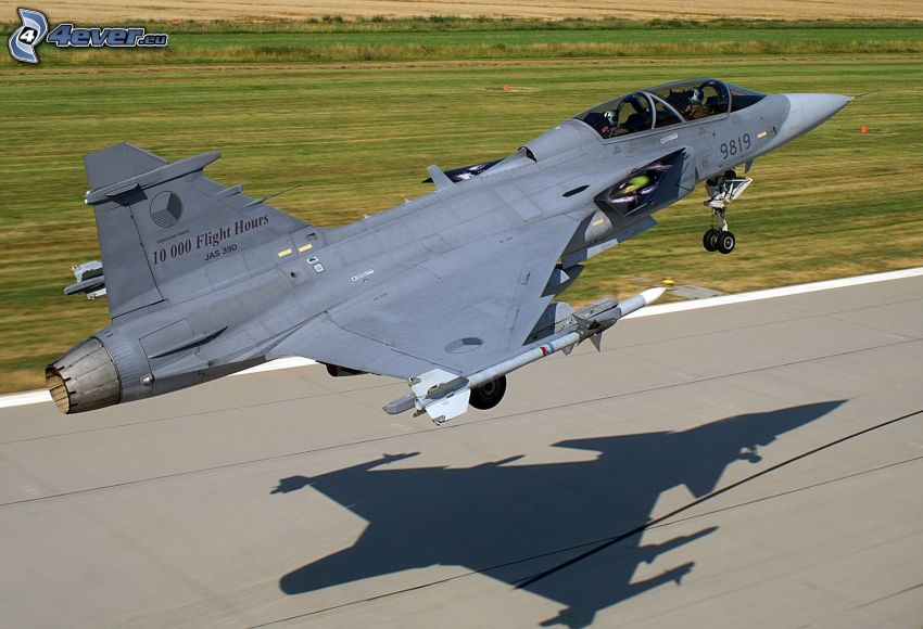 Saab JAS 39 Gripen, take-off