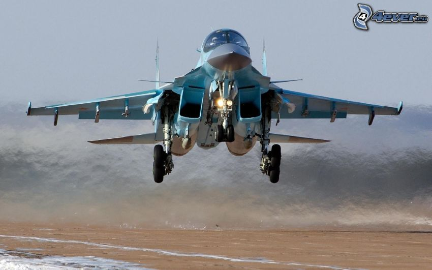 Sukhoi Su-34, take-off