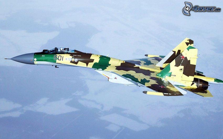 Sukhoi Su-35S, flight