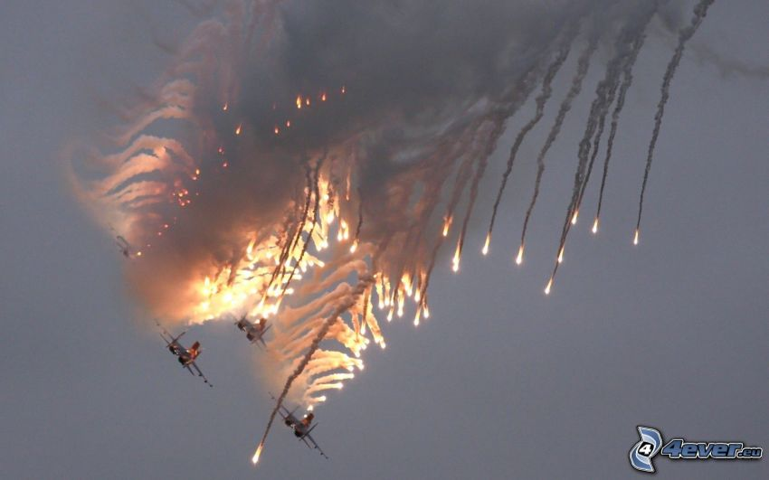 air war, accident