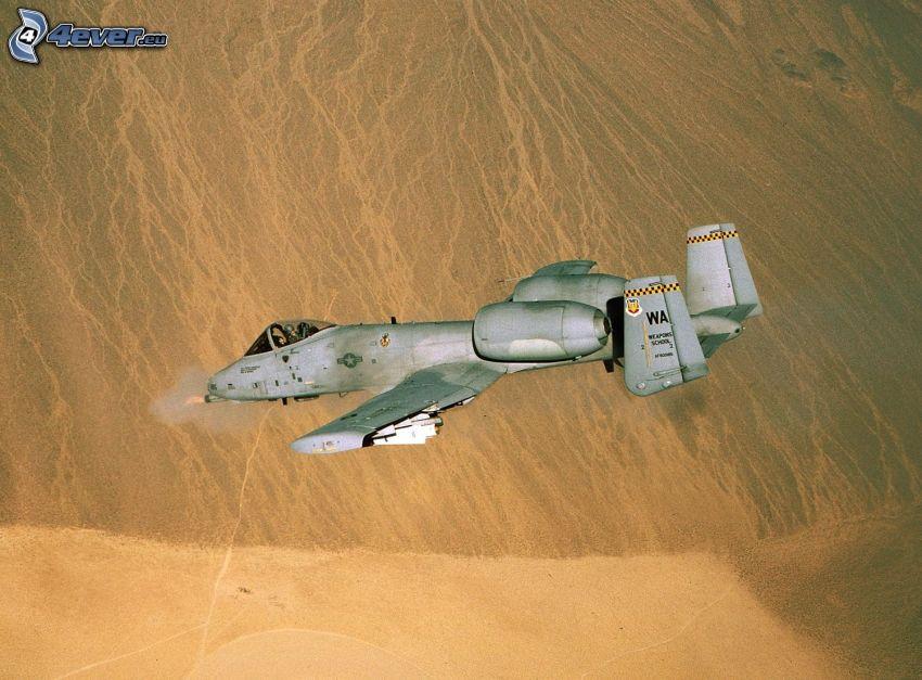 A-10 Thunderbolt II, desert