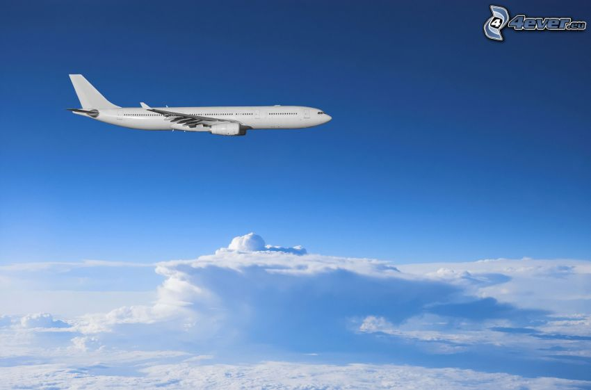 Airbus, clouds