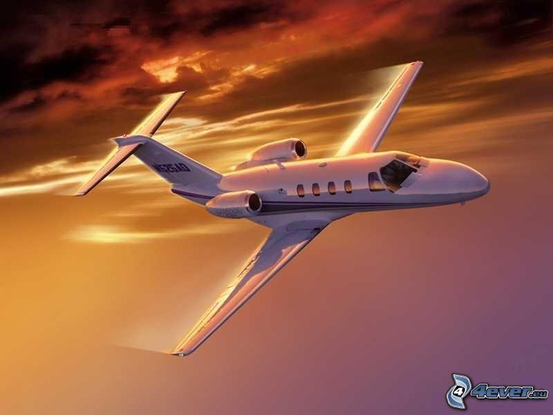 Cessna Citation CJ1, private jet