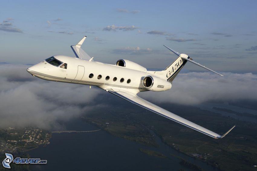 Gulfstream G450, private jet