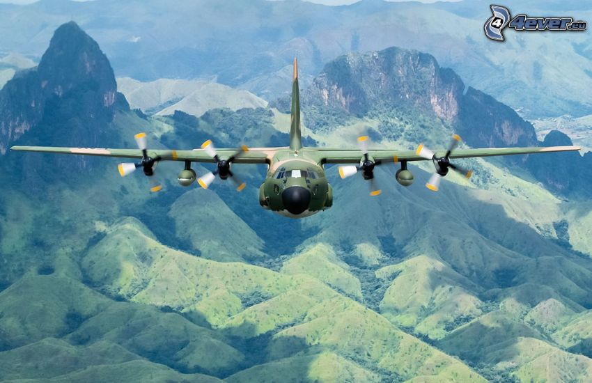 Lockheed C-130 Hercules, hills