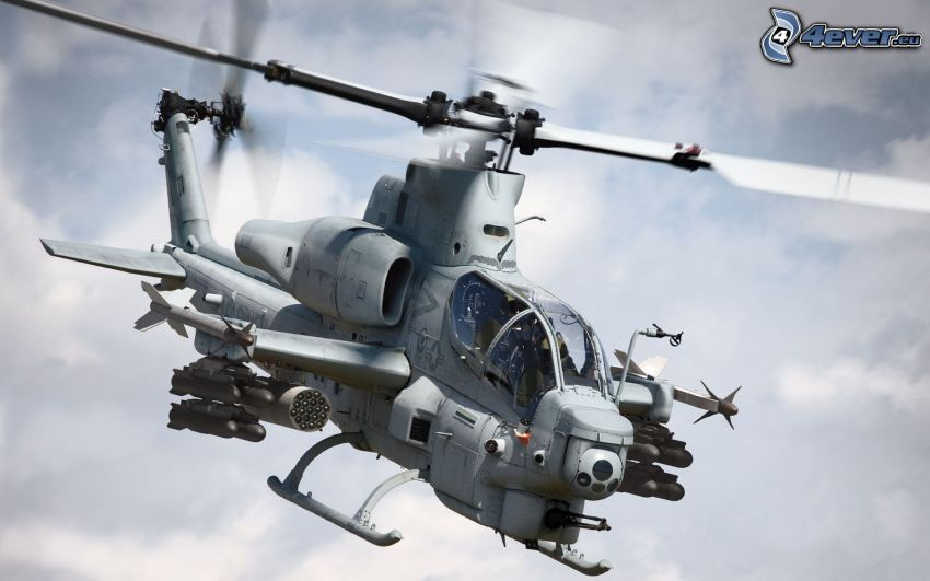 AH-1 Cobra, military helicopter