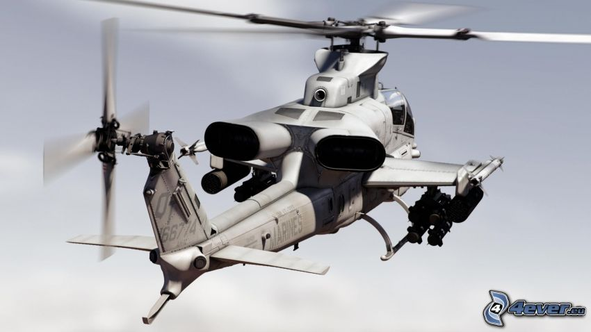 AH-1Z Viper, military helicopter