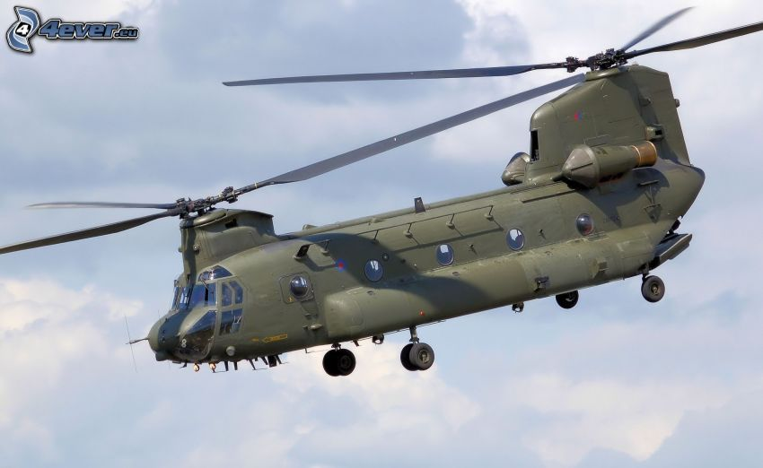 Boeing CH-47 Chinook, military helicopter