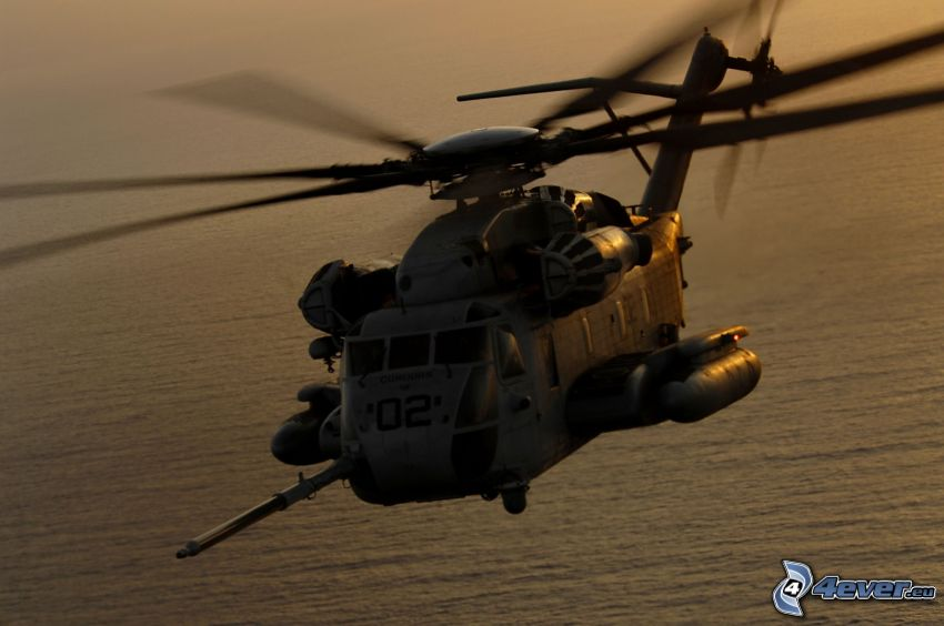 CH-53 Sea Stallion, military helicopter