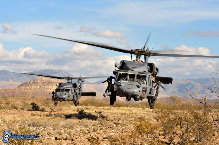 HH-60 Pave Hawk, military helicopters