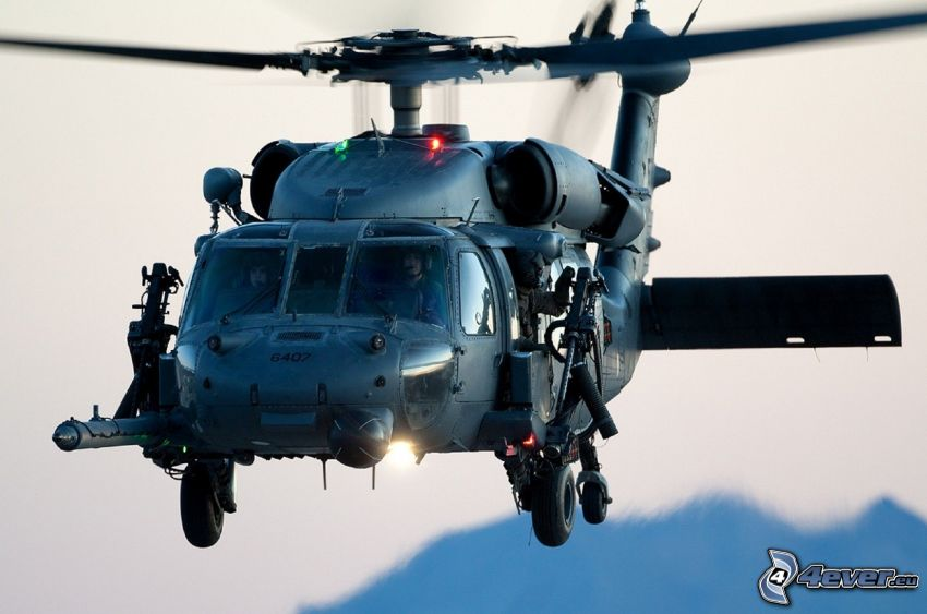 HH-60G Pave Hawk, military helicopter
