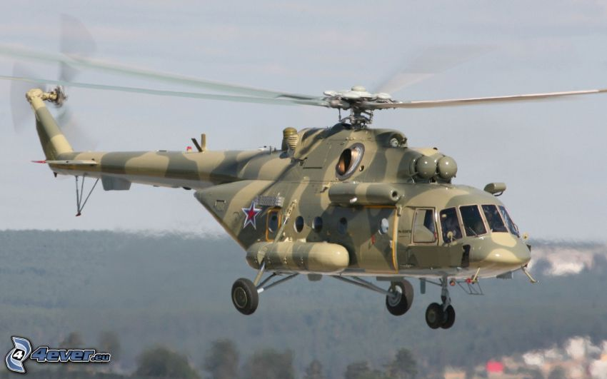 Mil Mi-8, military helicopter